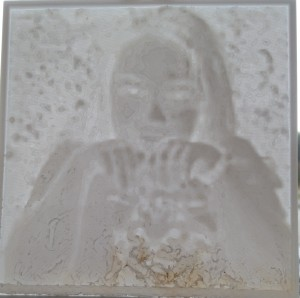 Kaitlyn 3D printed Lithopane